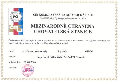 Chovatelská stanice: z Březovské samoty